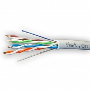UTP Cat.5e 4x2xAWG24 CCA PVC Indoor (Net.on), омедненный (100м)