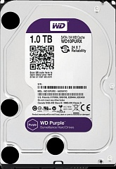HDD 1000 GB (1 TB) SATA-III Purple (WD10PURX)